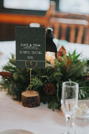Evergreen Winter Centerpieces