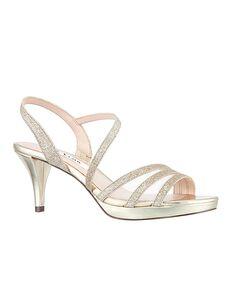 Nina Bridal Nazima_Platino Gold Shoe