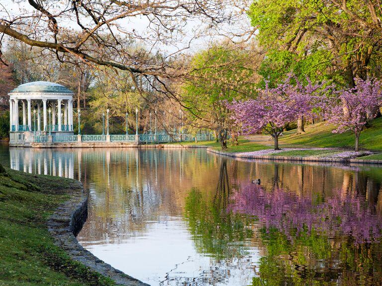 Providence lake scene