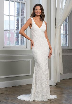 THEIA 890709 Sheath Wedding Dress