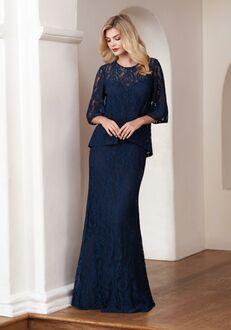 Jasmine Black Label Mother of the Bride M210058 Blue Mother Of The Bride Dress