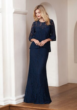 Jasmine Black Label Mother of the Bride M210058 Blue Mother Of The Bride Dress
