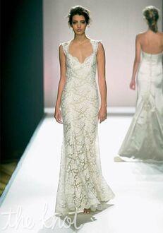 Monique Lhuillier Scarlet Sheath Wedding Dress