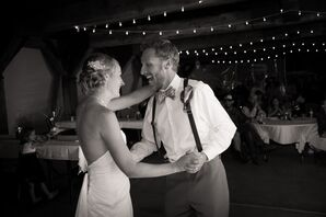 Sarah and Greg First Dance in Dillon, Colorado