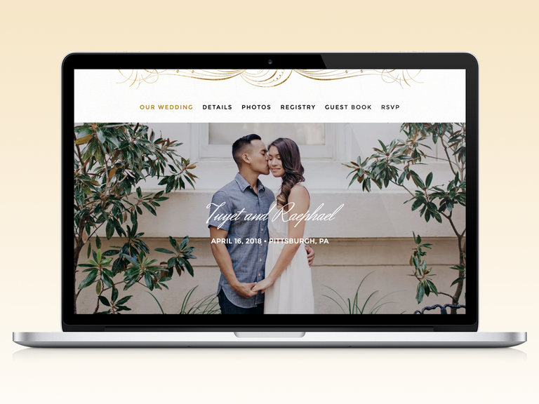How To Make A Wedding Website