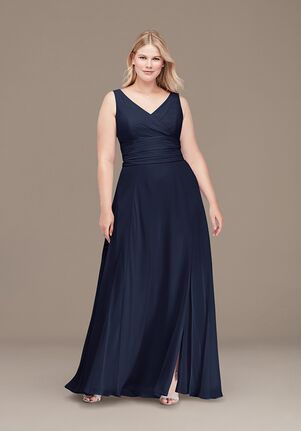 David's Bridal Collection David's Bridal Style F19831 V-Neck Bridesmaid Dress