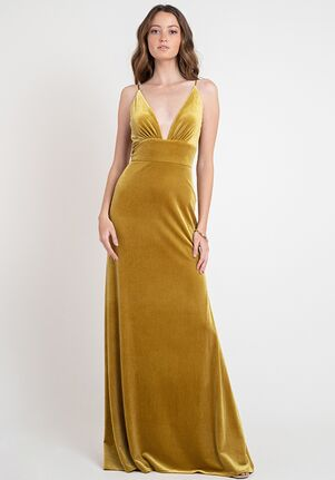 Jenny Yoo Collection (Maids) Madden V-Neck Bridesmaid Dress