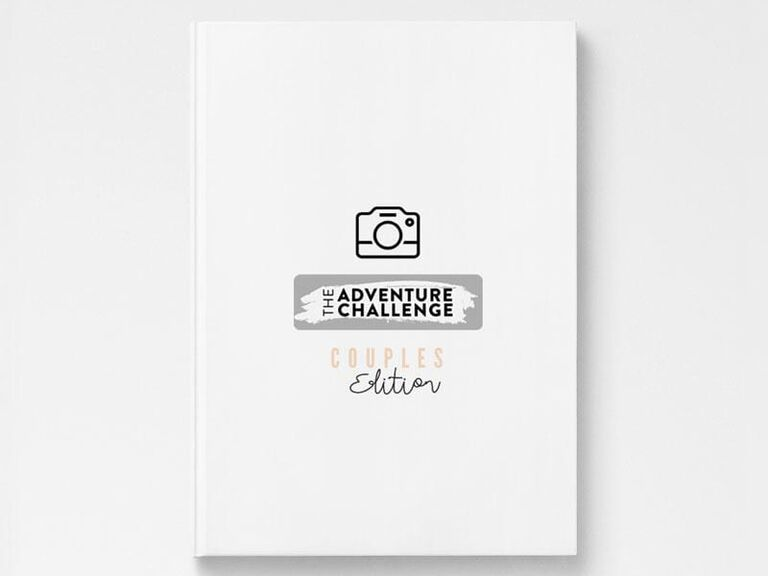 The Adventure Challenge: Couples Edition scrapbook