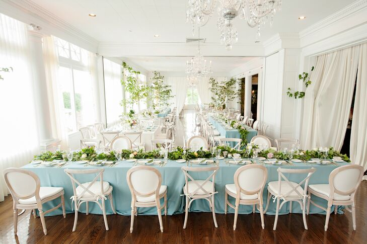 Preppy Pastel Reception at the Cincinnati Country Club in Cincinnati