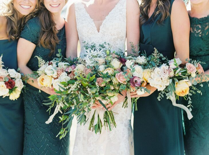 Bohemian Bouquets at Marathon, Texas Wedding