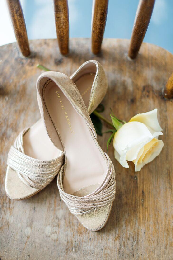 88deb6175afd Gold Loeffler Randall Wedding Sandals
