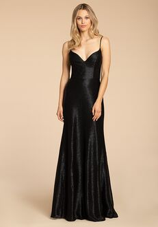 Hayley Paige Occasions 5966 V-Neck Bridesmaid Dress