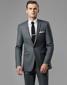 Generation Tux Iron Gray Peak Lapel Suit Gray Tuxedo