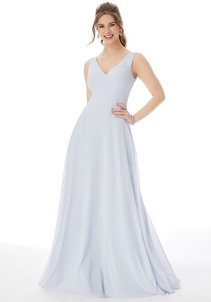 Morilee by Madeline Gardner Bridesmaids 1308 - Morilee by Madeline Gardner Bridesmaids V-Neck Bridesmaid Dress