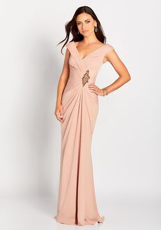 Cameron Blake 119646 Champagne Mother Of The Bride Dress
