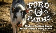 Exeter, CA Petting Zoo | Ford Farms Petting Zoo & Pony Rides