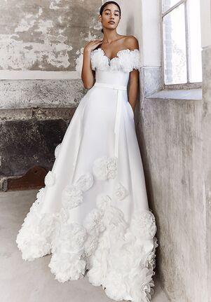 Viktor&Rolf Mariage FLORAL-OFF-THE-SHOULDER-GOWN A-Line Wedding Dress