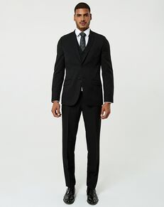 LE CHÂTEAU Wedding Boutique Tuxedos MENSWEAR_364281_010 Black Tuxedo