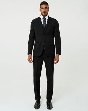 LE CHÂTEAU Wedding Boutique Tuxedos MENSWEAR_364281_010 Black Tuxedo