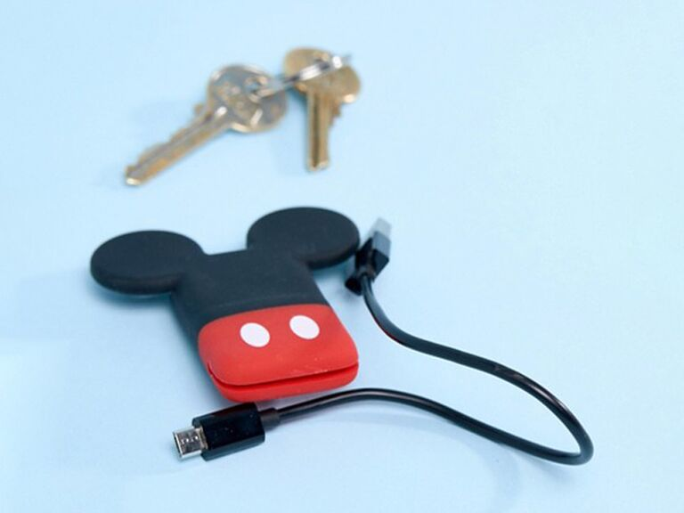 Disney Mickey Mouse phone charger for bachelorette party