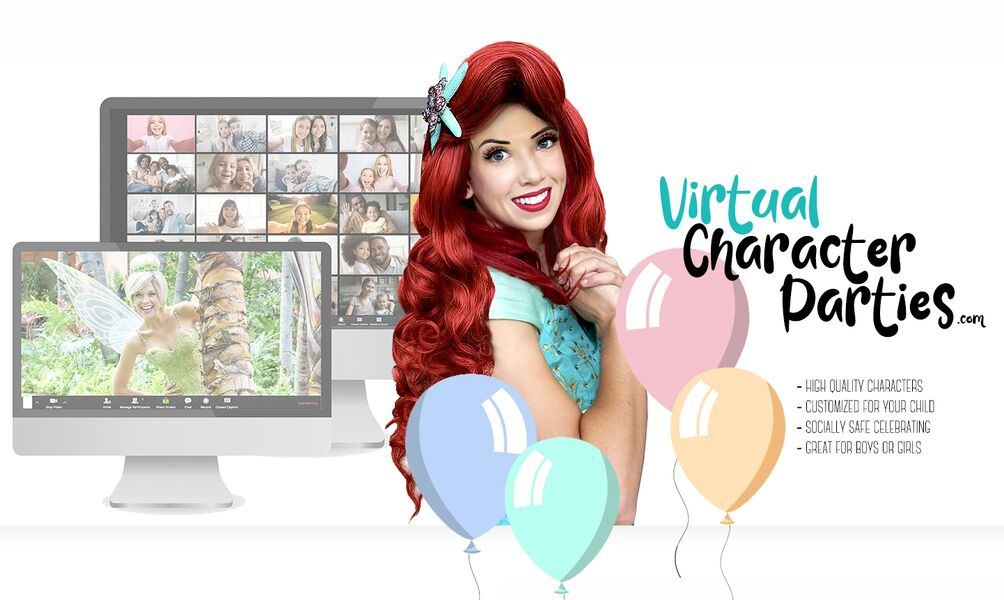 National Virtual Character Parties - Costumed Character - Los Angeles, CA