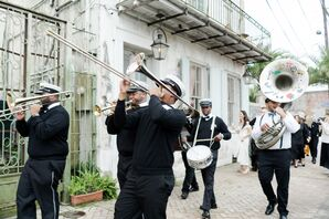 Traditional Second Line in New Orleans, Louisiana