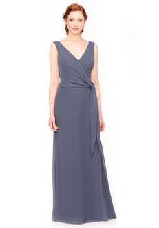 Bari Jay Bridesmaids 1965 V-Neck Bridesmaid Dress