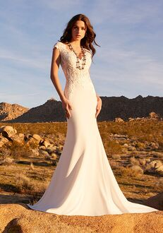 Morilee by Madeline Gardner/Blu Rhetta | 5769 Sheath Wedding Dress