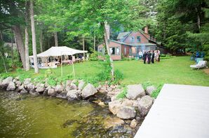 Family Lake House Wedding Venue