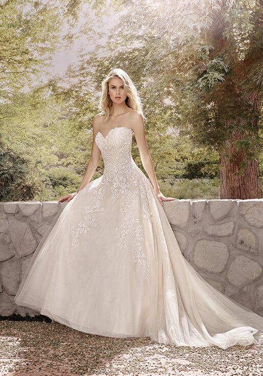 Jasmine Collection F191010 A-Line Wedding Dress