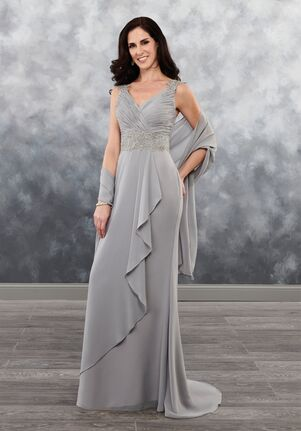 V Neck Mother Of The Bride Dresses