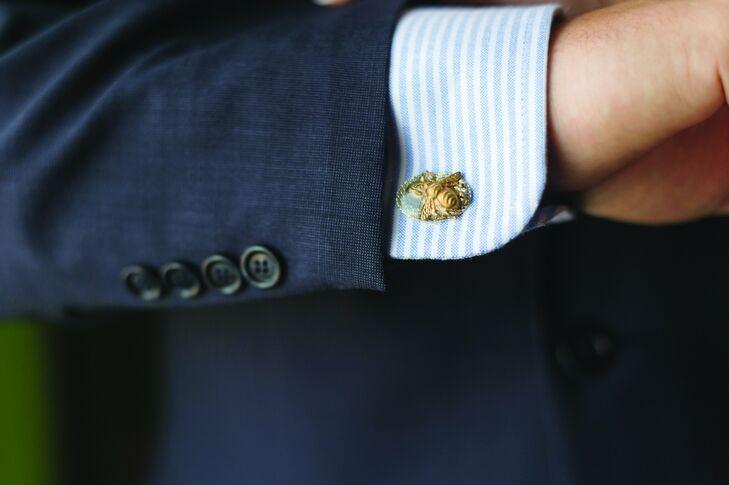 Gold Bee Cufflinks