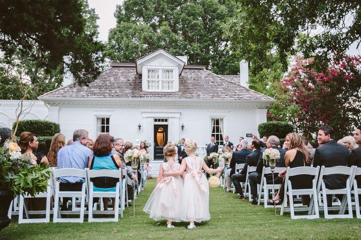 Serenata Farm Outdoor Wedding Ceremony