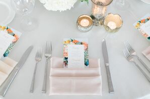 Simple, Garden-Inspired Table Setting