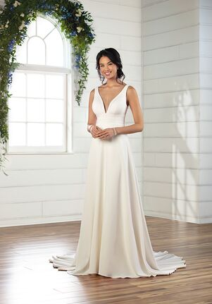Essense of Australia D2948 A-Line Wedding Dress