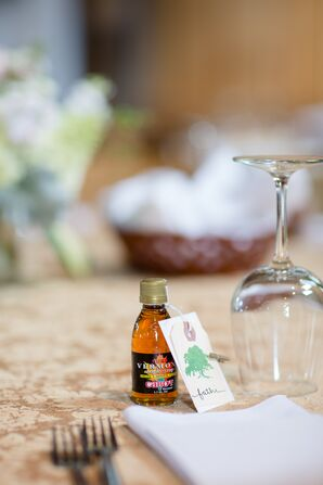 Vermont Maple Syrup Wedding Favors
