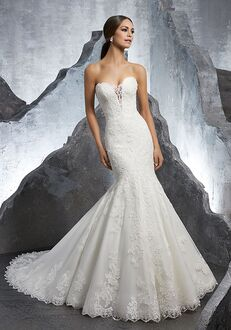 Morilee by Madeline Gardner/Blu Kaitlyn/5607 Mermaid Wedding Dress