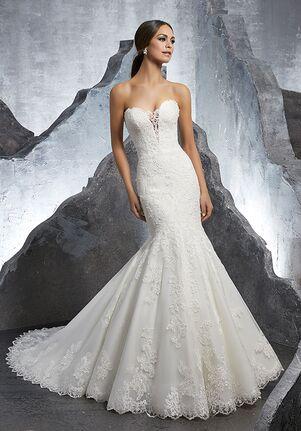 Morilee by Madeline Gardner/Blu Kaitlyn/5607 Mermaid Wedding Dress