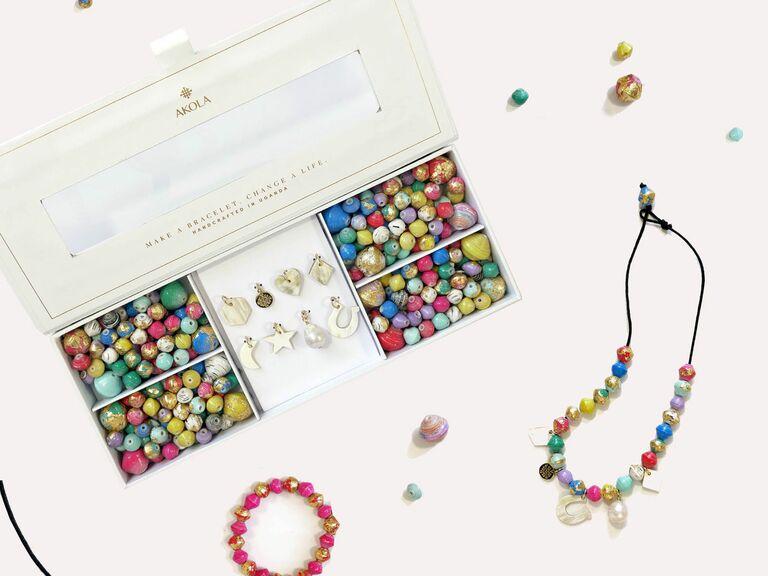 Akola DIY jewelry kit gift for wife