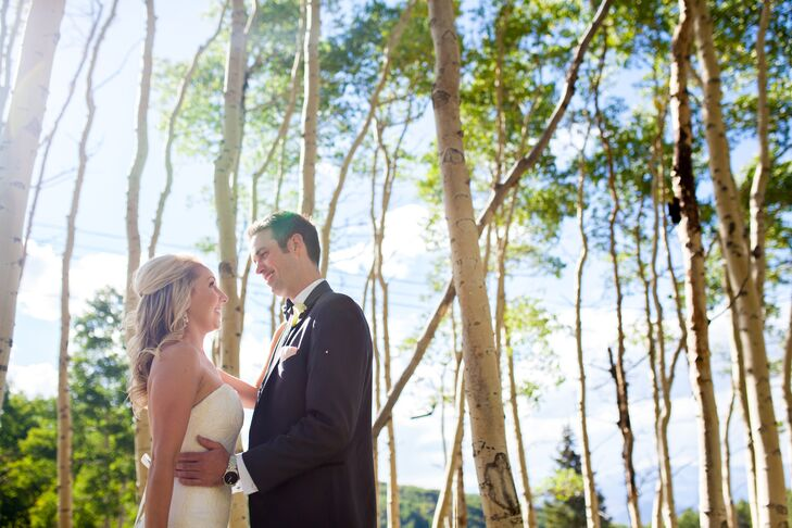 Ashley Sunderland (29 and a business developer) and Brett Foy (29 and a consultant) met at The Ginn Mill. On Christmas day, four years later, they wer