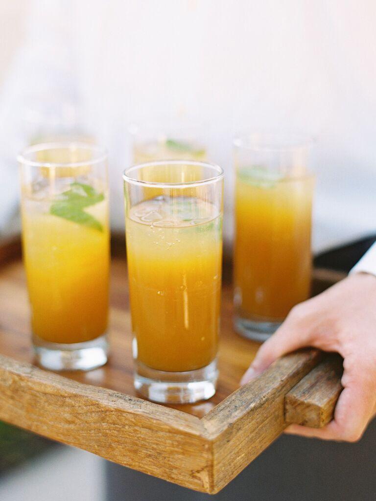 wedding drink ideas fruity cocktails