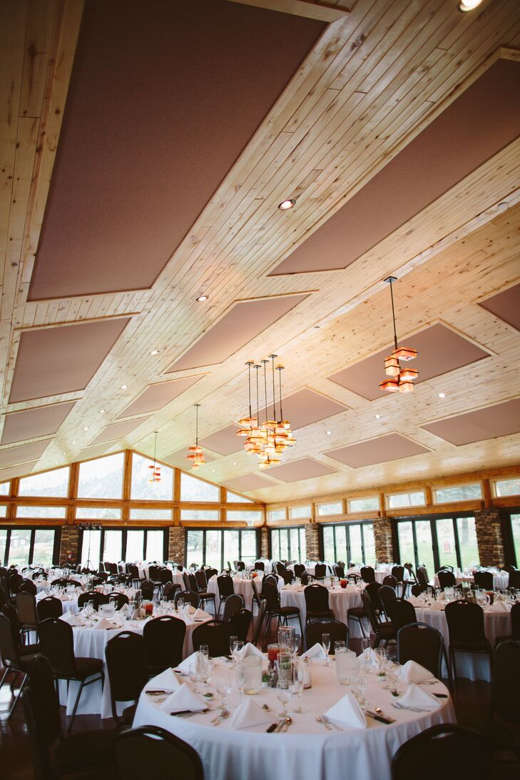Rustic Wood Lodge Reception