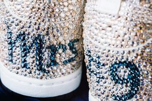 Custom Bridal Nike Sneakers