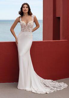 WHITE ONE LAVA Mermaid Wedding Dress