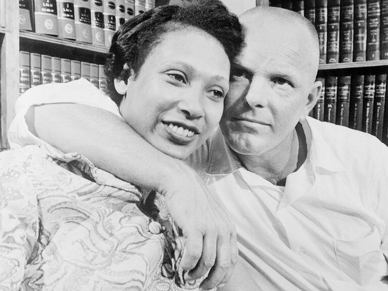 Mildred and Richard Loving famous couples in history