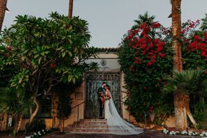 Bride and Groom Portraits at Scottsdale, Arizona, Wedding