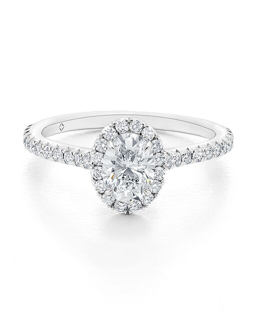The Forevermark Engagement & Commitment Collection Classic Oval Cut Engagement Ring