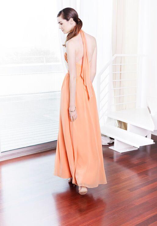Colour by Kenneth Winston 5220L Halter Bridesmaid Dress