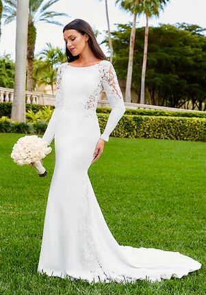 Adrianna Papell Platinum 31200 Wedding Dress