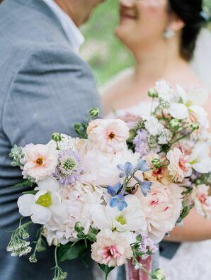 Soft Pastel Bouquet for Ohio Wedding